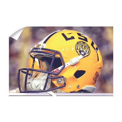 LSU Tigers - Tiger Helmet - College Wall Art #Wall Decal