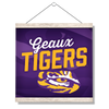 LSU Tigers - Geaux Tigers - College Wall Art #Hanging Canvas