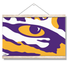 LSU Tigers - Eye of the Tiger - College Wall Art #Hanging Canvas
