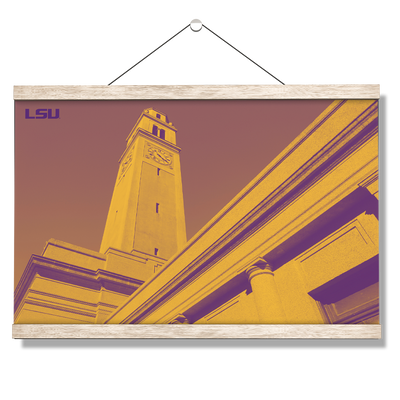 LSU Tigers - LSU Tower - College Wall Art #Hanging Canvas