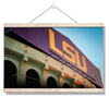 LSU Tigers - Tiger Stadium - College Wall Art #Hanging Canvas