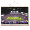LSU TIGERS - It's Saturday Night in Death Valley - College Wall Art #Hanging Canvas