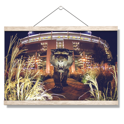 LSU Tigers - Tiger Night - College Wall Art #Hanging Canvas