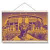LSU Tigers - Tiger Stadium Duotone - College Wall Art #Hanging Canvas