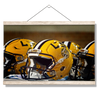 LSU Tigers - LSU Helmets - College Wall Art #Hanging Canvas