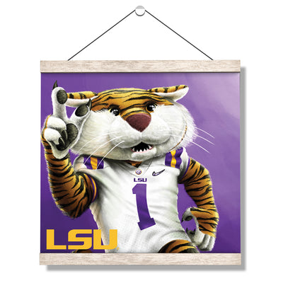 LSU Tigers - LSU Mike #Hanging Canvas