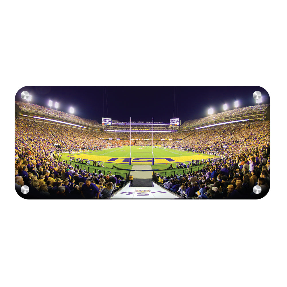 LSU Tigers - Death Valley Pano - College Wall Art #Canvas
