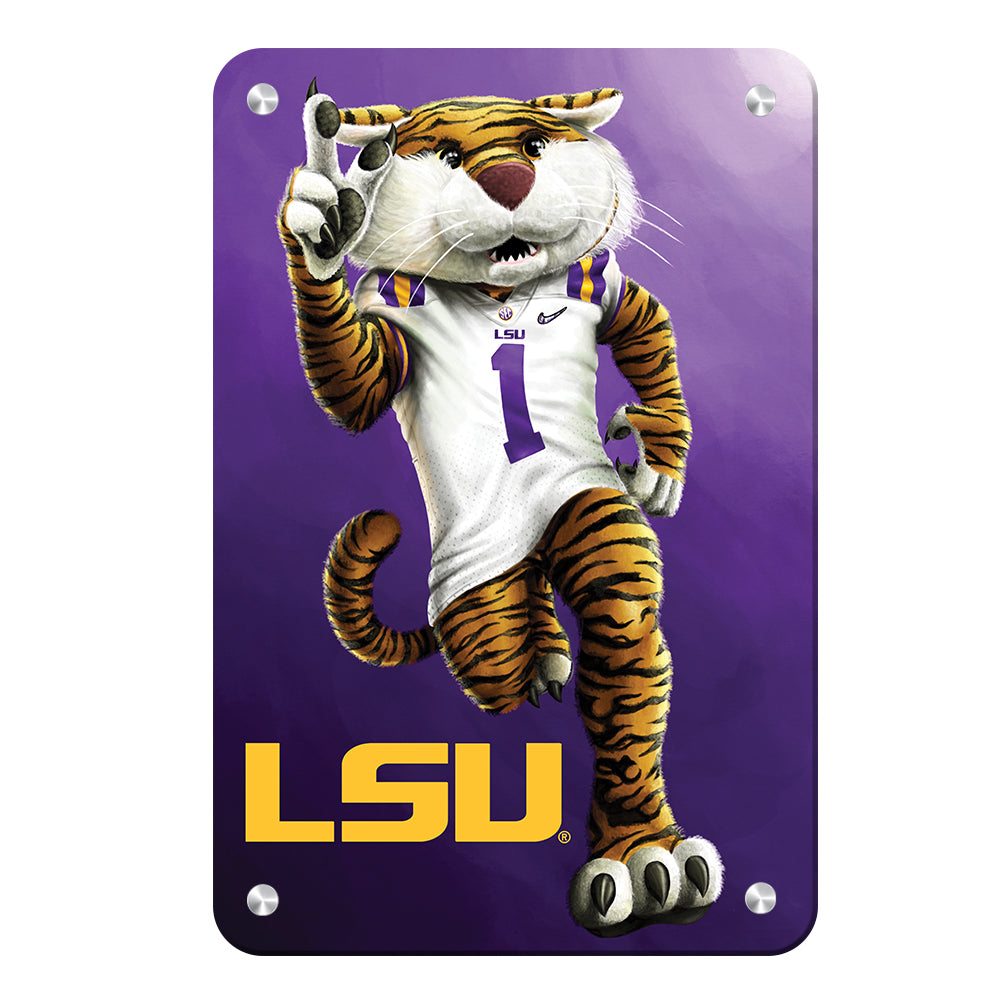 LSU Tigers - LSU Mike - College Wall Art #Canvas