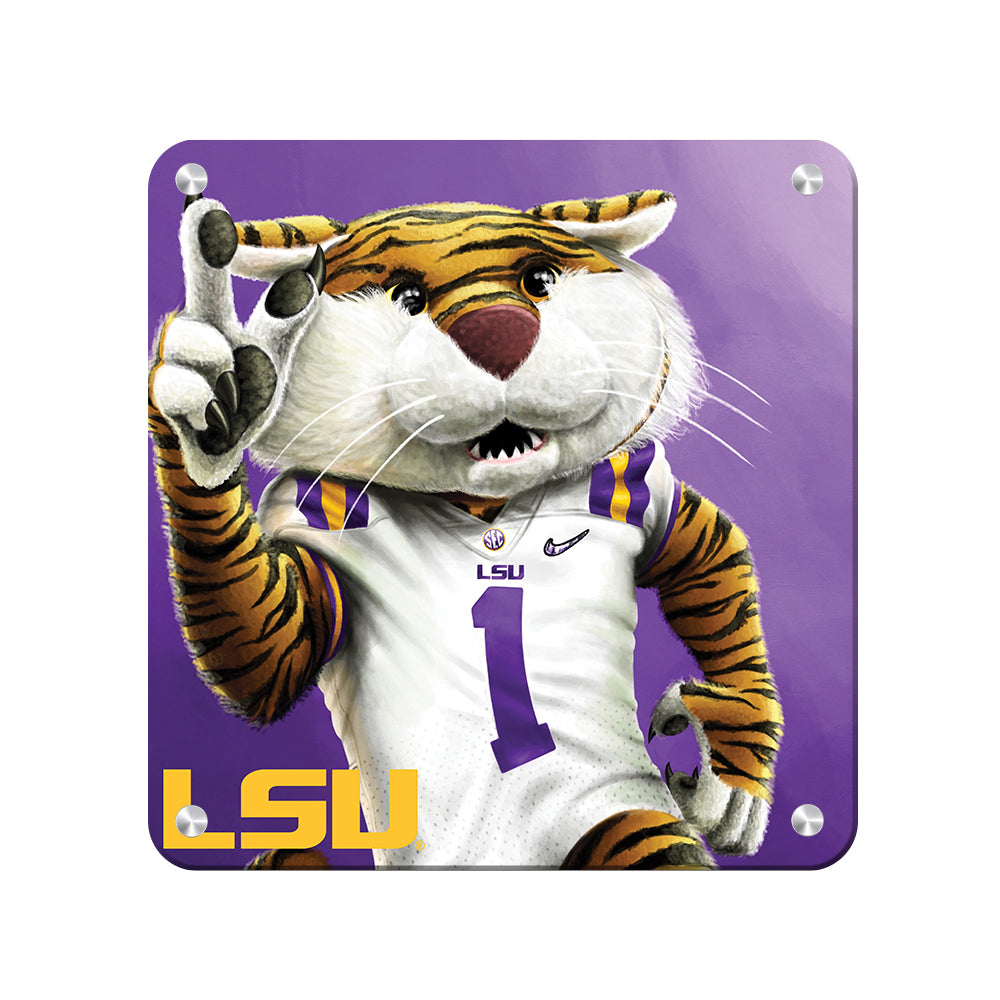 LSU Tigers - LSU Mike #Canvas