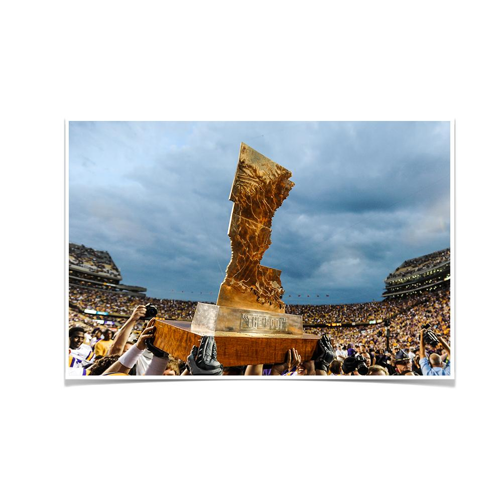 LSU Tigers - The Boot - College Wall Art #Canvas