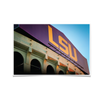 LSU Tigers - Tiger Stadium - College Wall Art #Poster