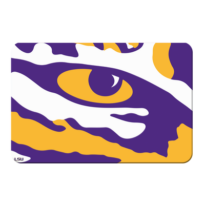LSU Tigers - Eye of the Tiger - College Wall Art #PVC