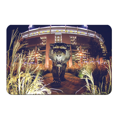 LSU Tigers - Tiger Night - College Wall Art #PVC