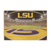 LSU Tigers - Death Valley - College Wall Art #Wood