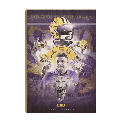 LSU Tigers - This is LSU #Wood