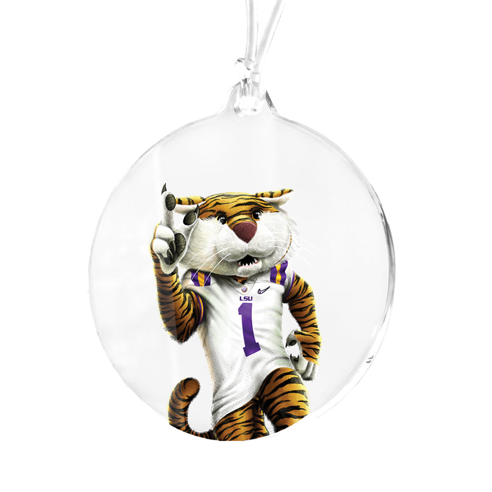 LSU Tigers - LSU Mike Bag Tag & Ornament