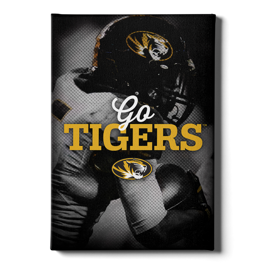 Missouri Tigers - Go Tigers - College Wall Art #Canvas
