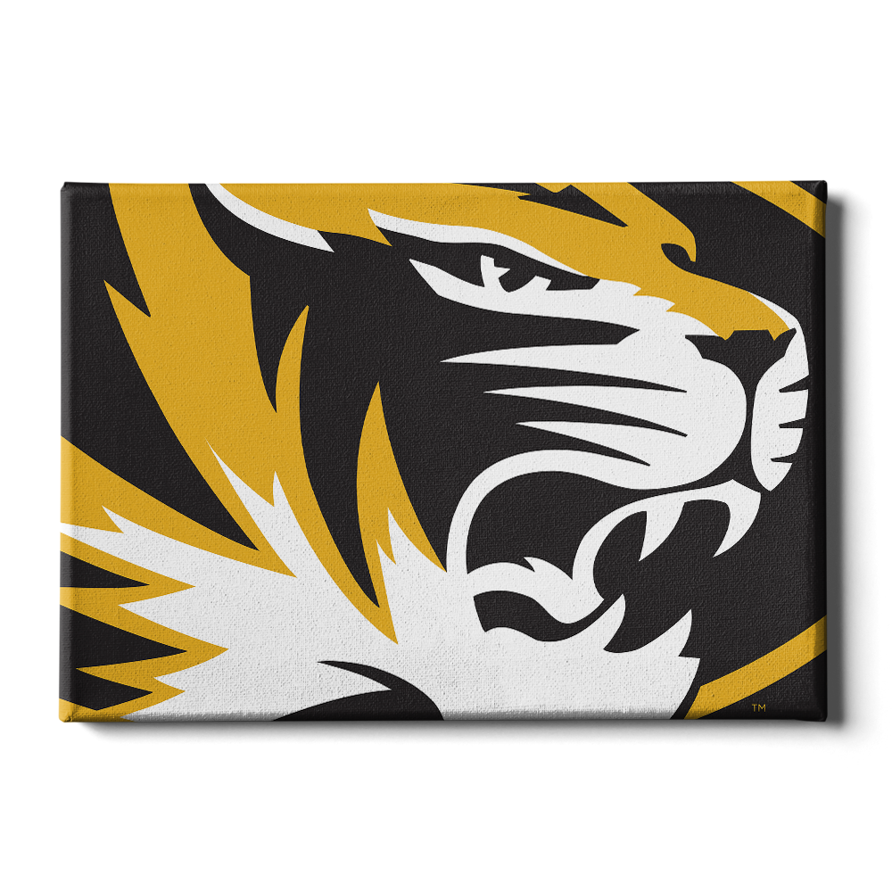 Missouri Tigers - Mizzou Tiger - College Wall Art #Canvas