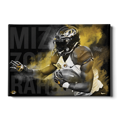 Missouri Tigers - MizzouRun - College Wall Art #Canvas