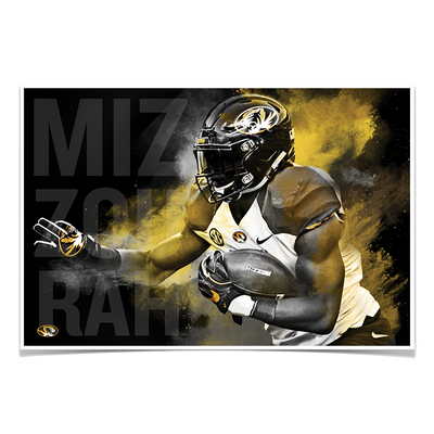Missouri Tigers - MizzouRun - College Wall Art #Poster