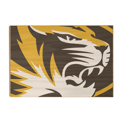 Missouri Tigers - Mizzou Tiger - College Wall Art #Wood