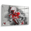 Miami RedHawks<sub>&reg;</sub> - Miami Football Paint - College Wall Art#Acrylic
