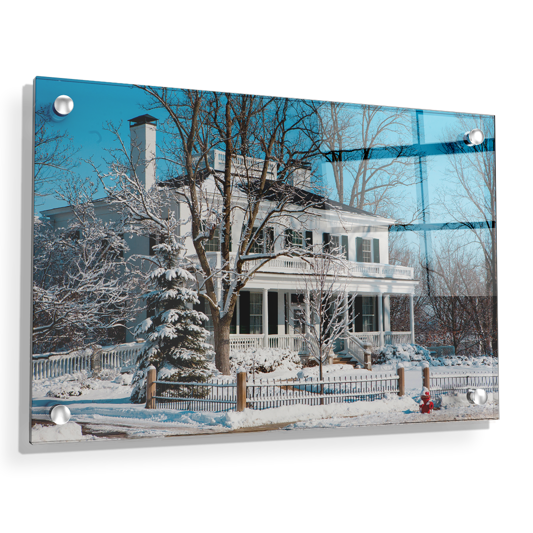 Miami RedHawks<sub>&reg;</sub> - Winter Wonderland - College Wall Art#Canvas