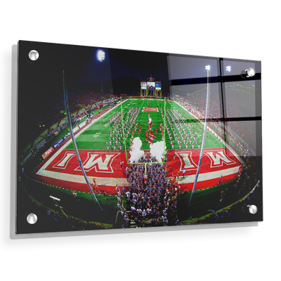 Miami RedHawks<sub>&reg;</sub> - Yager Stadium Grand Entrance - College Wall Art#Acrylic
