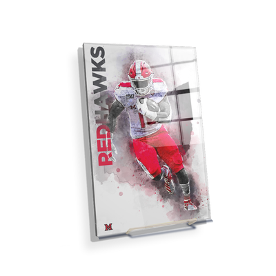 Miami RedHawks<sub>&reg;</sub> - Miami RedHawks<sub>&reg;</sub> Football - College Wall Art#Acrylic Mini