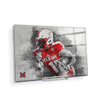 Miami RedHawks<sub>&reg;</sub> - Miami Football Paint - College Wall Art#Acrylic Mini