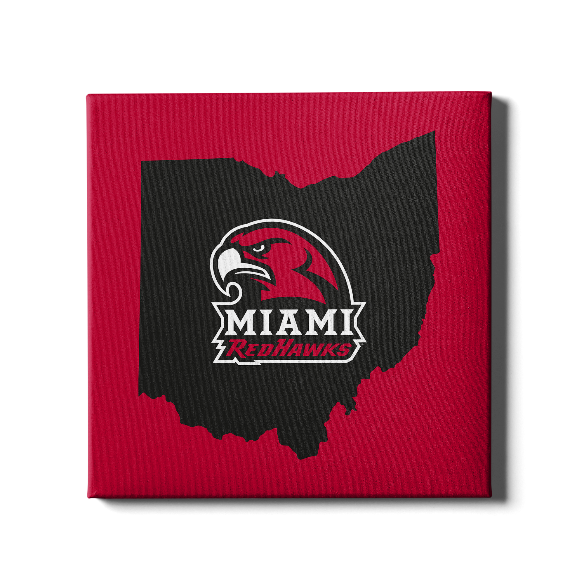 Miami RedHawks<sub>&reg;</sub> - RedHawks<sub>&reg;</sub> - College Wall Art#Canvas
