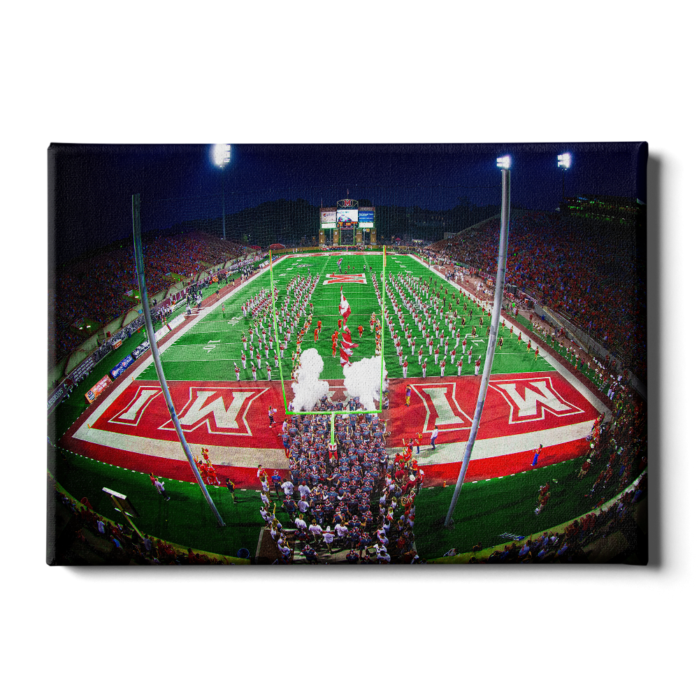 Yager Stadium Grand Entrance #Canvas