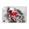 Miami RedHawks<sub>&reg;</sub> - Miami Football Paint - College Wall Art#Wall Decal