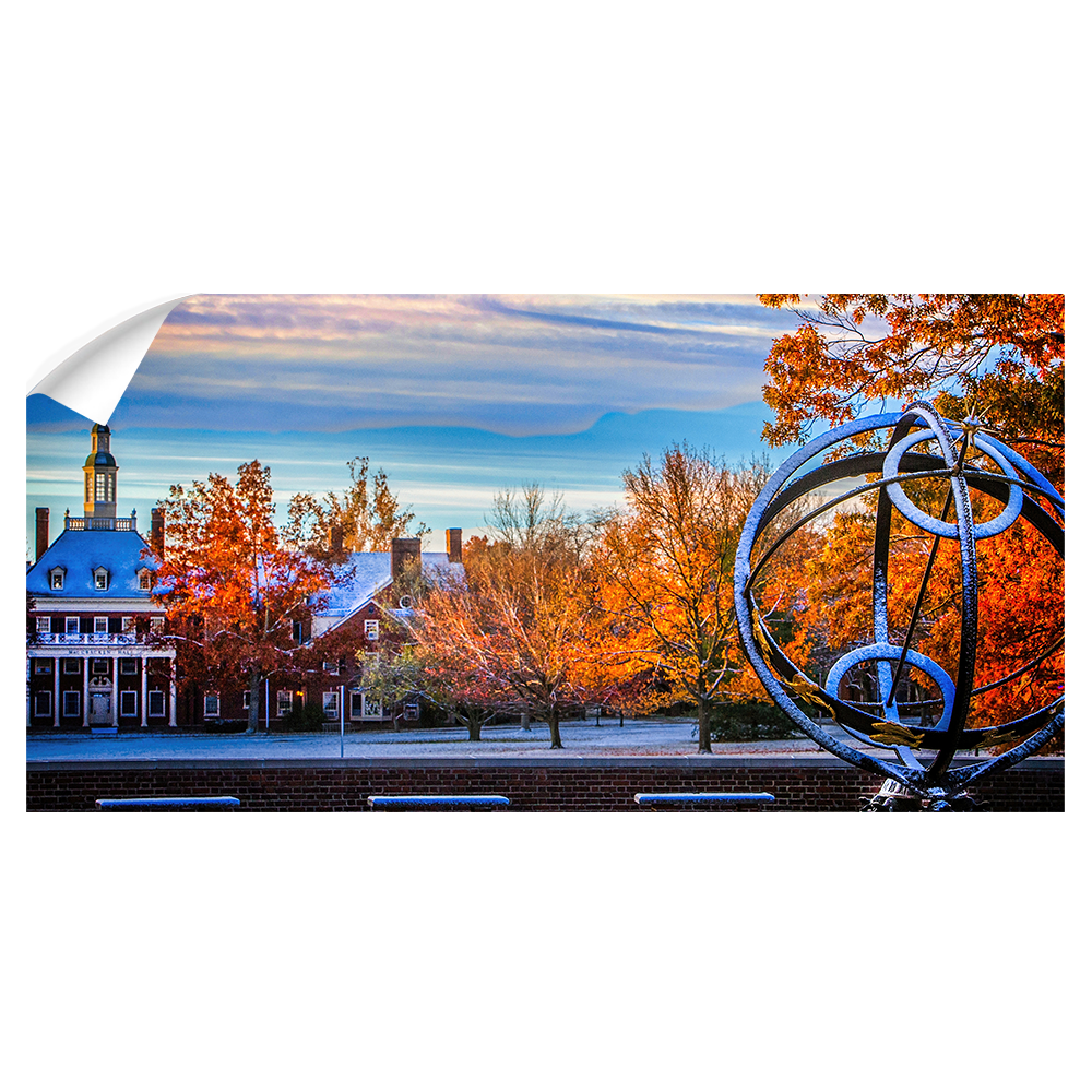 Miami RedHawks<sub>&reg;</sub>  - Sundial McCrackin Early Snow Panoramic - College Wall Art#Canvas