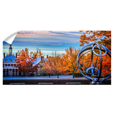 Miami RedHawks<sub>&reg;</sub>  - Sundial McCrackin Early Snow Panoramic - College Wall Art#Wall Decal