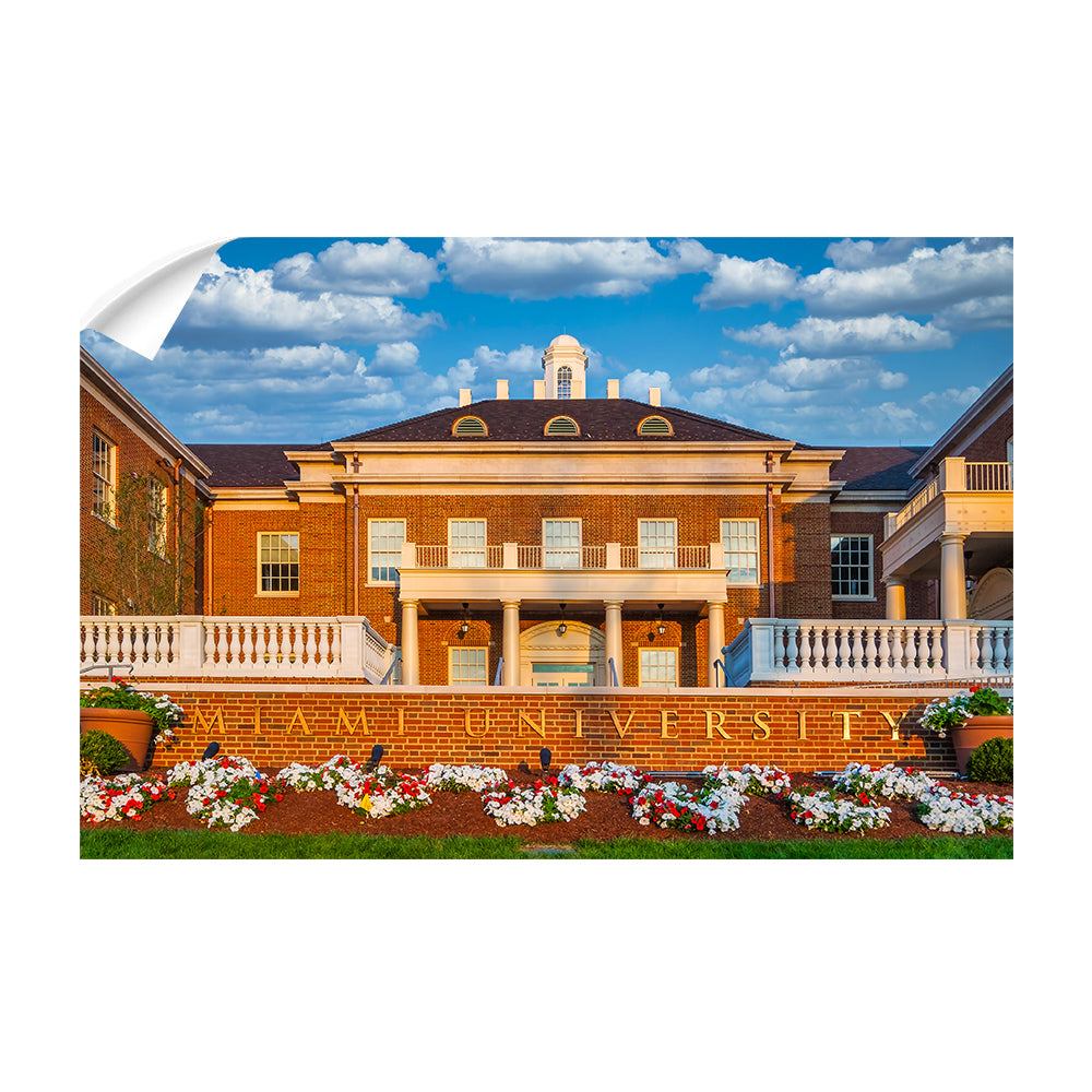 Miami RedHawks<sub>&reg;</sub> - Miami University - College Wall Art #Canvas