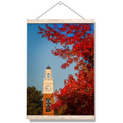Miami RedHawks<sub>&reg;</sub> - Pulley Tower Blaze - College Wall Art#Hanging Canvas