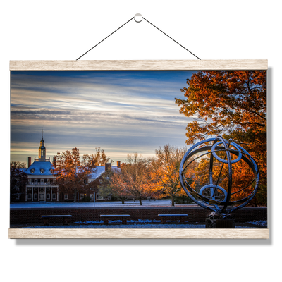 Miami RedHawks<sub>&reg;</sub> - Fall Dusting - College Wall Art#Hanging Canvas