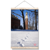 Miami RedHawks<sub>&reg;</sub> - Bela Winter Tracks - College Wall Art#Hanging Canvas