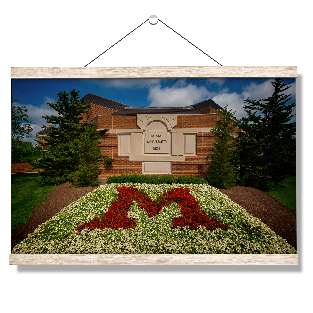 Miami RedHawks<sub>&reg;</sub> - Miami University 1809 - College Wall Art#Canvas