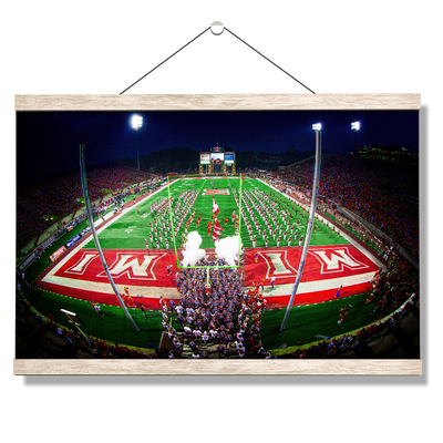 Miami RedHawks<sub>&reg;</sub> - Yager Stadium Grand Entrance - College Wall Art#Hanging Canvas