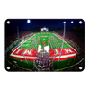 Miami RedHawks<sub>&reg;</sub> - Yager Stadium Grand Entrance - College Wall Art#Metal