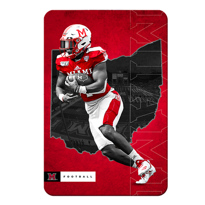 Miami RedHawks<sub>&reg;</sub> - MOH Football - College Wall Art#PVC