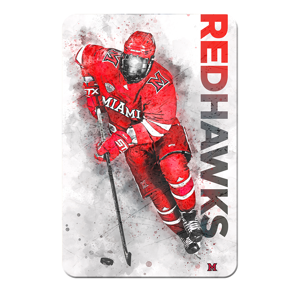 Miami RedHawks<sub>&reg;</sub> - RedHawks<sub>&reg;</sub> Hockey - College Wall Art#Canvas
