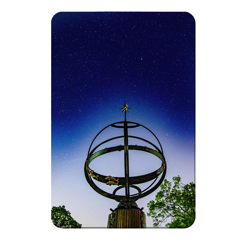 Miami RedHawks<sub>&reg;</sub> - Sundial Night Sky - College Wall Art#Canvas