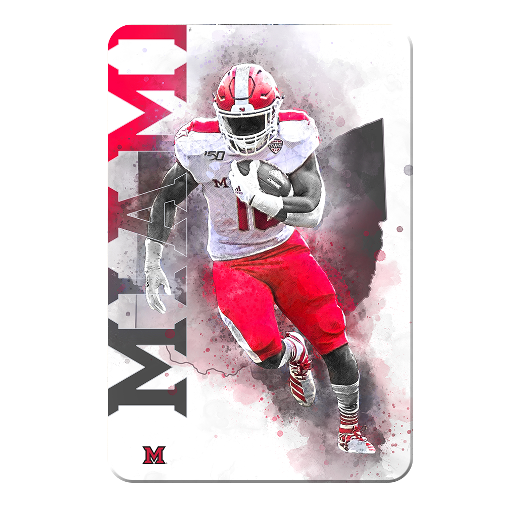 Miami RedHawks<sub>&reg;</sub> - Miami Football - College Wall Art#Canvas