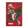 Miami RedHawks<sub>&reg;</sub> - MOH Football - College Wall Art#Wood