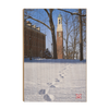 Miami RedHawks<sub>&reg;</sub> - Bela Winter Tracks - College Wall Art#Wood
