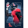 Ole Miss Rebels - Land Shark State - College Wall Art #Dimensional