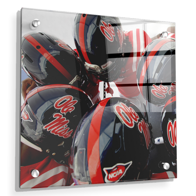 Ole Miss Rebels - Huddle - College Wall Art #Acrylic